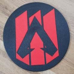 20191215_154113.jpg Download free STL file Apex Legends Coaster • Design to 3D print, kis79