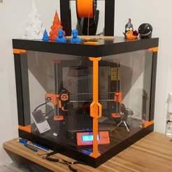 20181203_213429.jpg Download free STL file Prusa i3 MK3 Corner ENCLOSURE • 3D print object, kis79