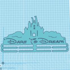 Image 2.png Télécharger fichier STL Porte-médaille Disney • Design à imprimer en 3D, mrbarker1985