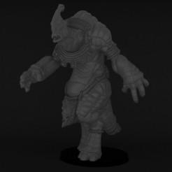 giant10.jpg Download STL file Giantsaurus Fantasy sport • 3D printing template, Polymorfminis