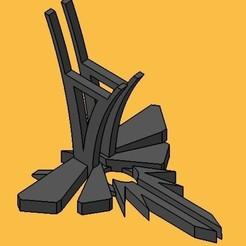 Télécharger fichier 3D La base de contrôle de la Play Station 4 est la dernière des lucioles, Rooster_3D