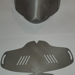 Download free 3D printing files Medical Mask Shield, 3dresolutions