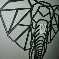 WhatsApp Image 2020-12-21 at 9.07.09 PM (2).jpeg Download STL file 2D Elephant • 3D printing design, Adme