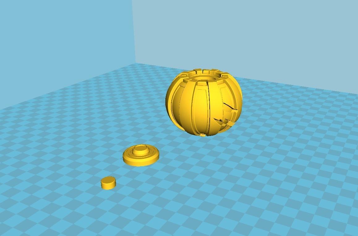 043.jpg Download 3MF file Green goblin bombs from the Spide-Man comics • 3D print model, vetrock