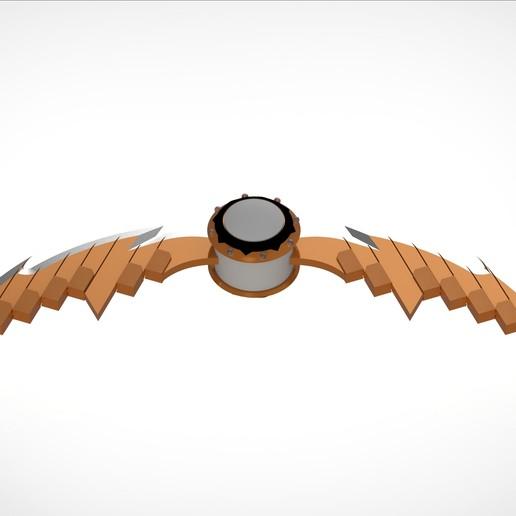 Télécharger fichier STL Modèle d'impression 3D de Pumpkin Bomb with Razors • Modèle pour imprimante 3D, vetrock