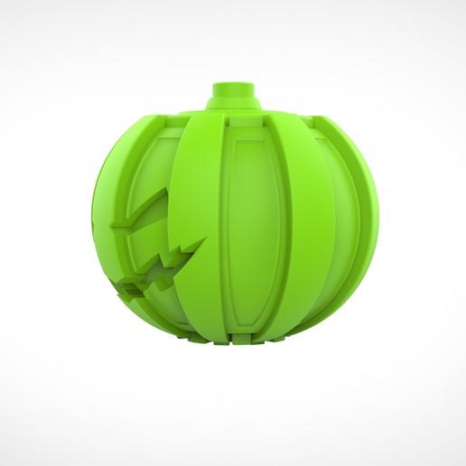 019.jpg Download 3MF file Green goblin bombs from the Spide-Man comics • 3D print model, vetrock