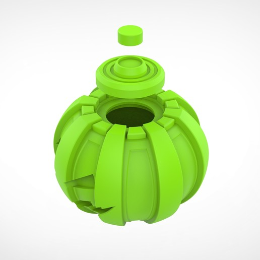 037.jpg Download 3MF file Green goblin bombs from the Spide-Man comics • 3D print model, vetrock