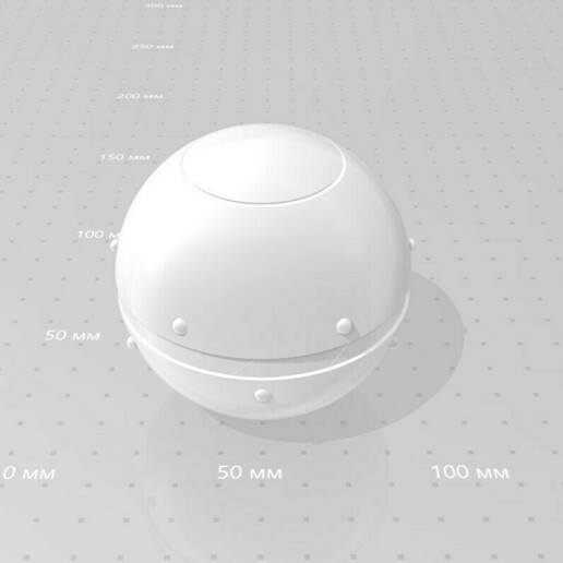 026.jpg Download 3MF file Trap Orb from the Ghostbusters comics  • 3D printable object, vetrock
