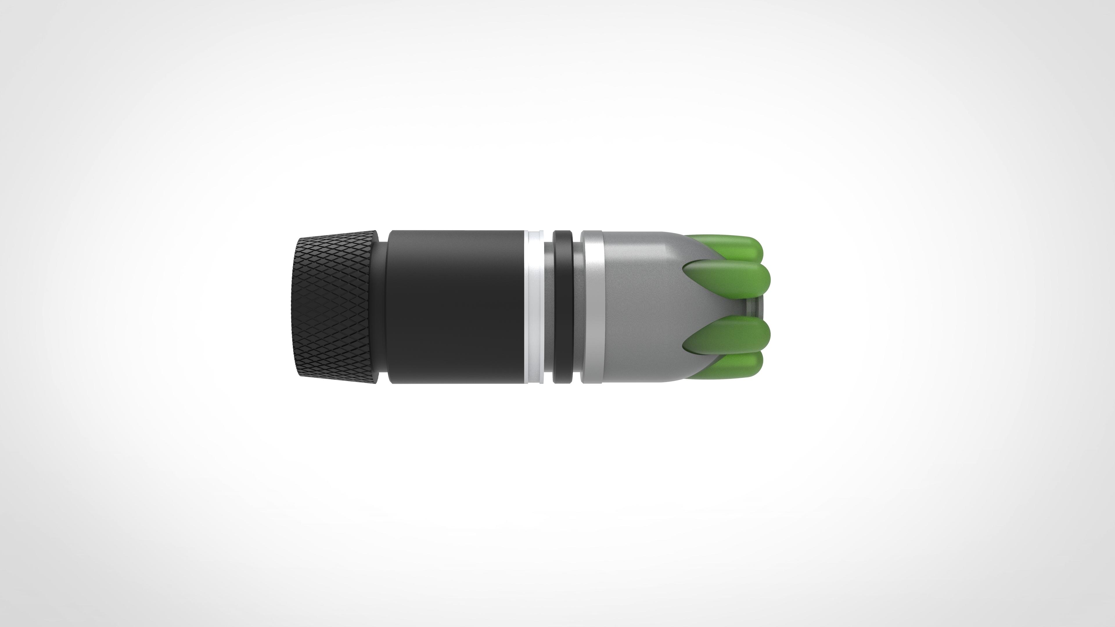 014.jpg Download 3MF file Glue grenade from the video game Batman: Arkham Origins • 3D printer model, vetrock