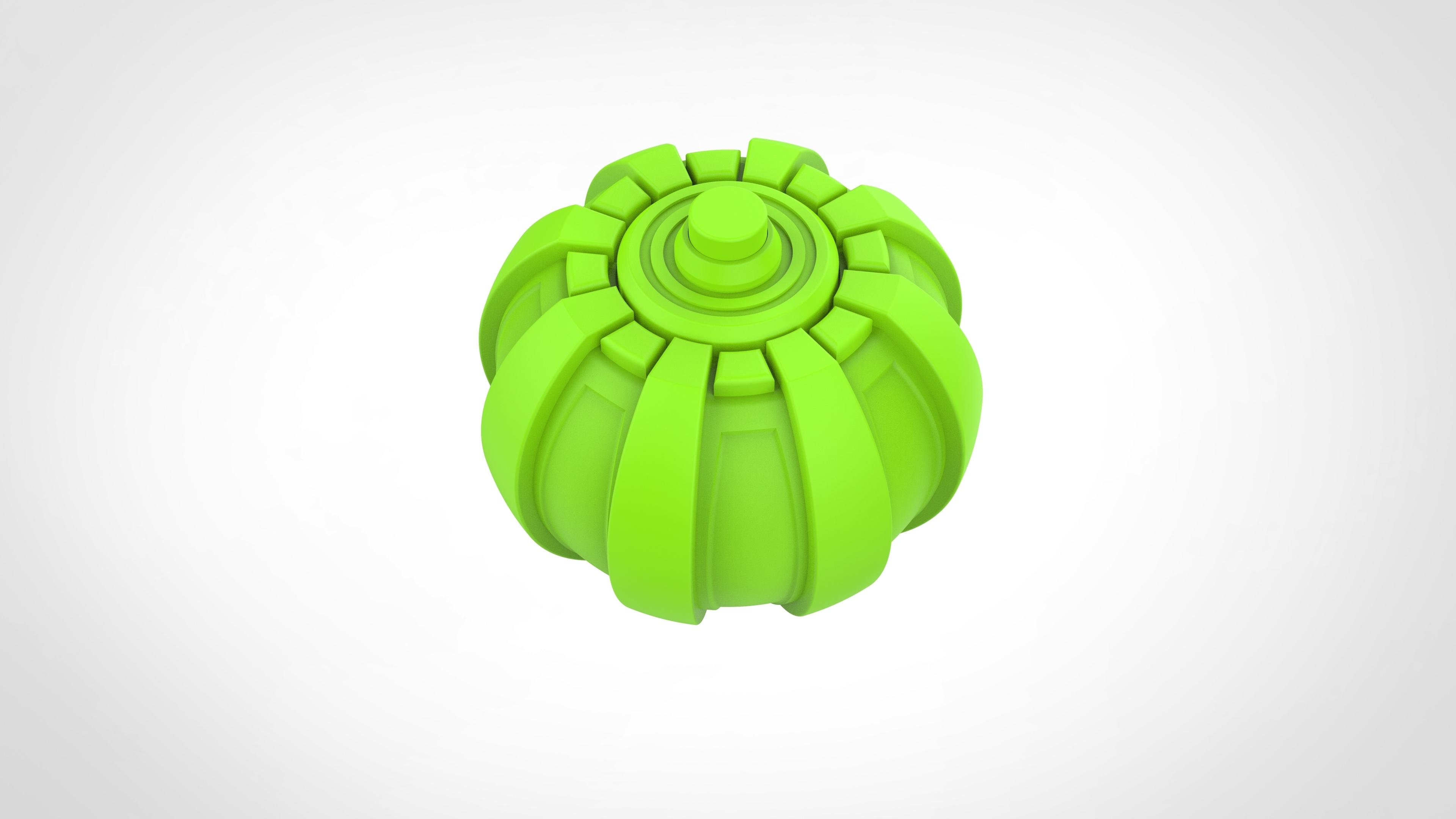 024.jpg Download 3MF file Green goblin bombs from the Spide-Man comics • 3D print model, vetrock