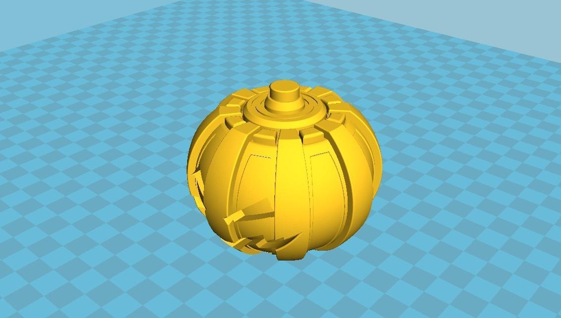 040.jpg Download 3MF file Green goblin bombs from the Spide-Man comics • 3D print model, vetrock
