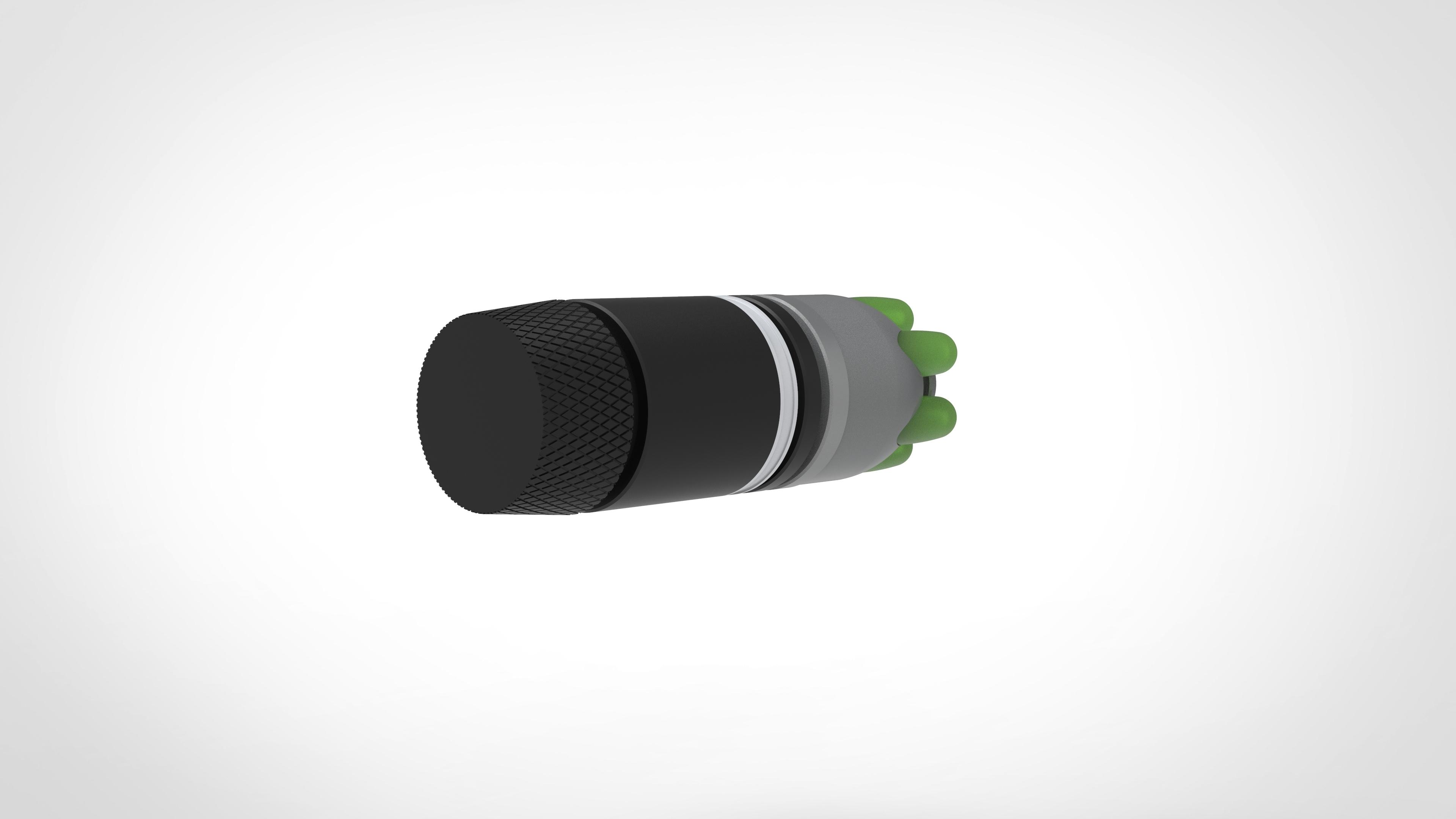 011.jpg Download 3MF file Glue grenade from the video game Batman: Arkham Origins • 3D printer model, vetrock