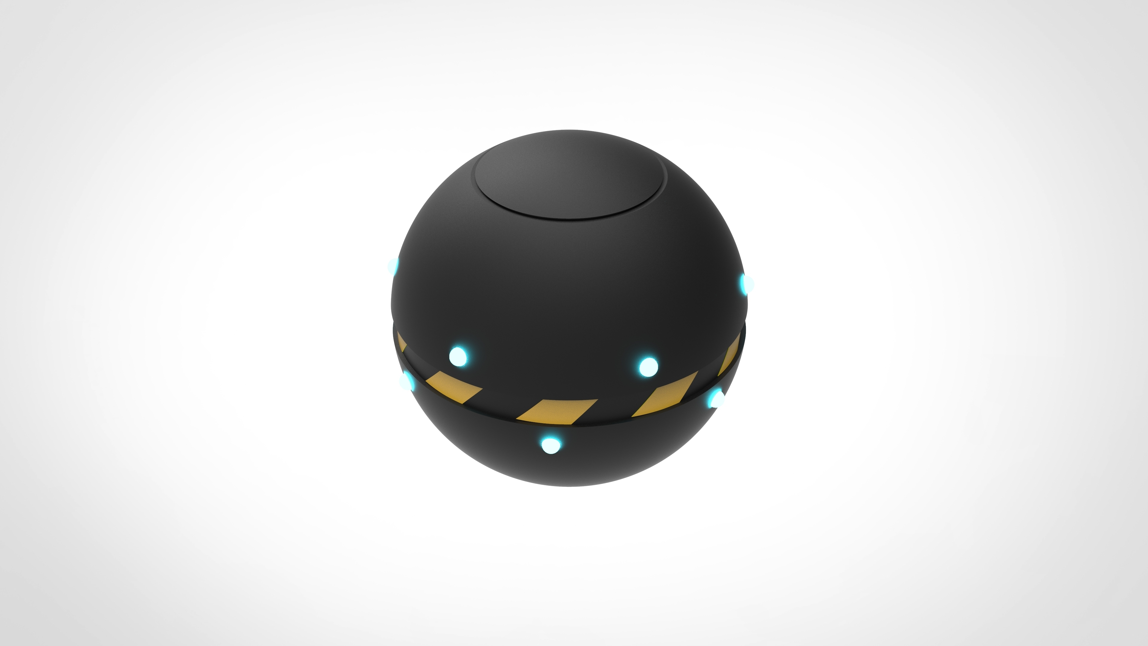 001.jpg Download 3MF file Trap Orb from the Ghostbusters comics  • 3D printable object, vetrock