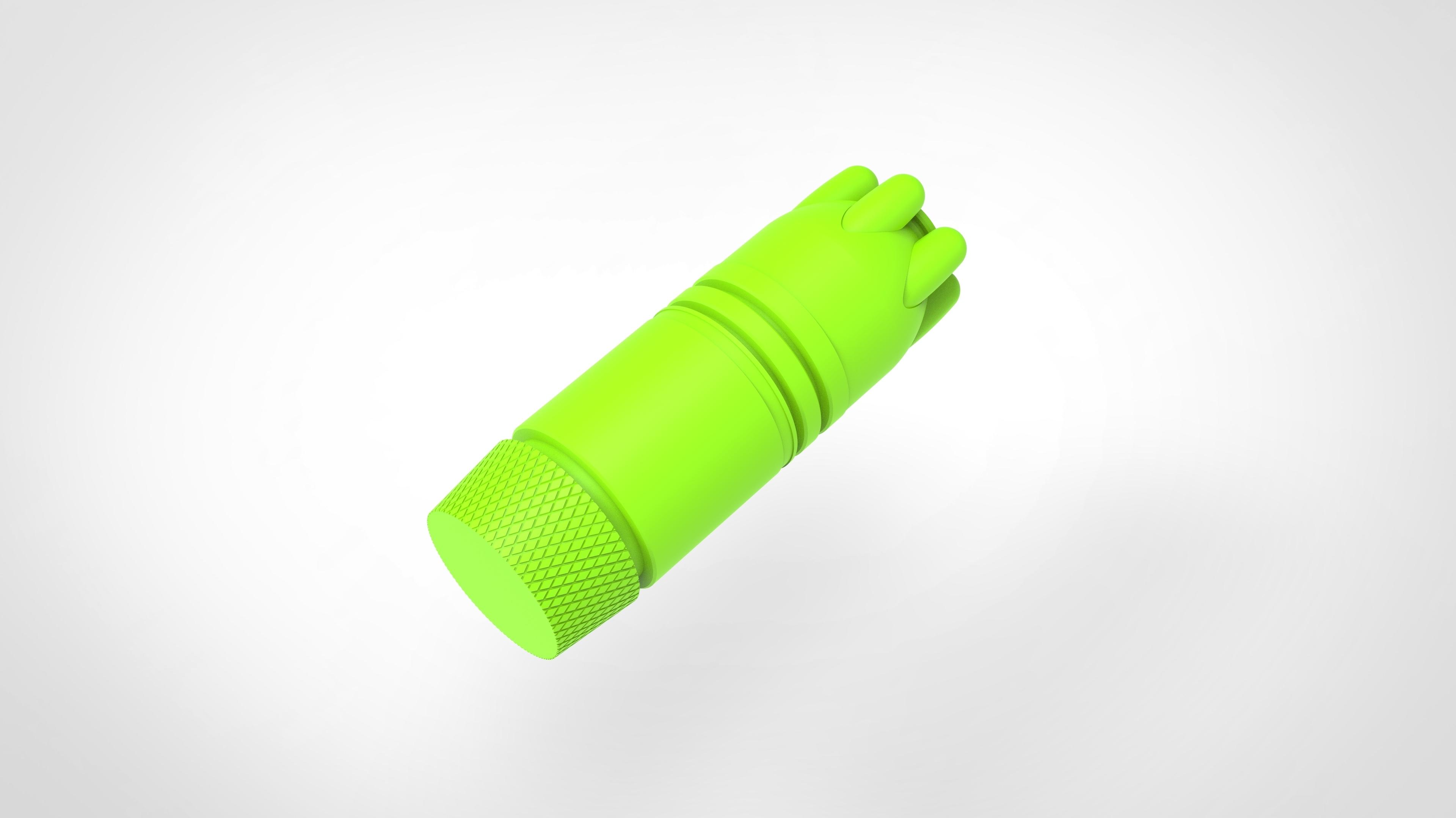 029.jpg Download 3MF file Glue grenade from the video game Batman: Arkham Origins • 3D printer model, vetrock