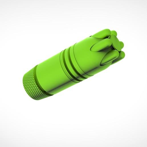 020.jpg Download 3MF file Glue grenade from the video game Batman: Arkham Origins • 3D printer model, vetrock
