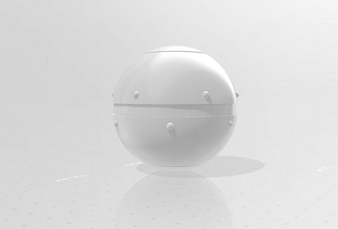 028.jpg Download 3MF file Trap Orb from the Ghostbusters comics  • 3D printable object, vetrock