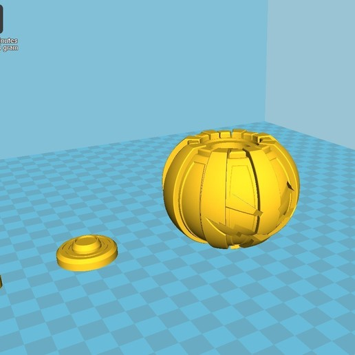 041.jpg Download 3MF file Green goblin bombs from the Spide-Man comics • 3D print model, vetrock
