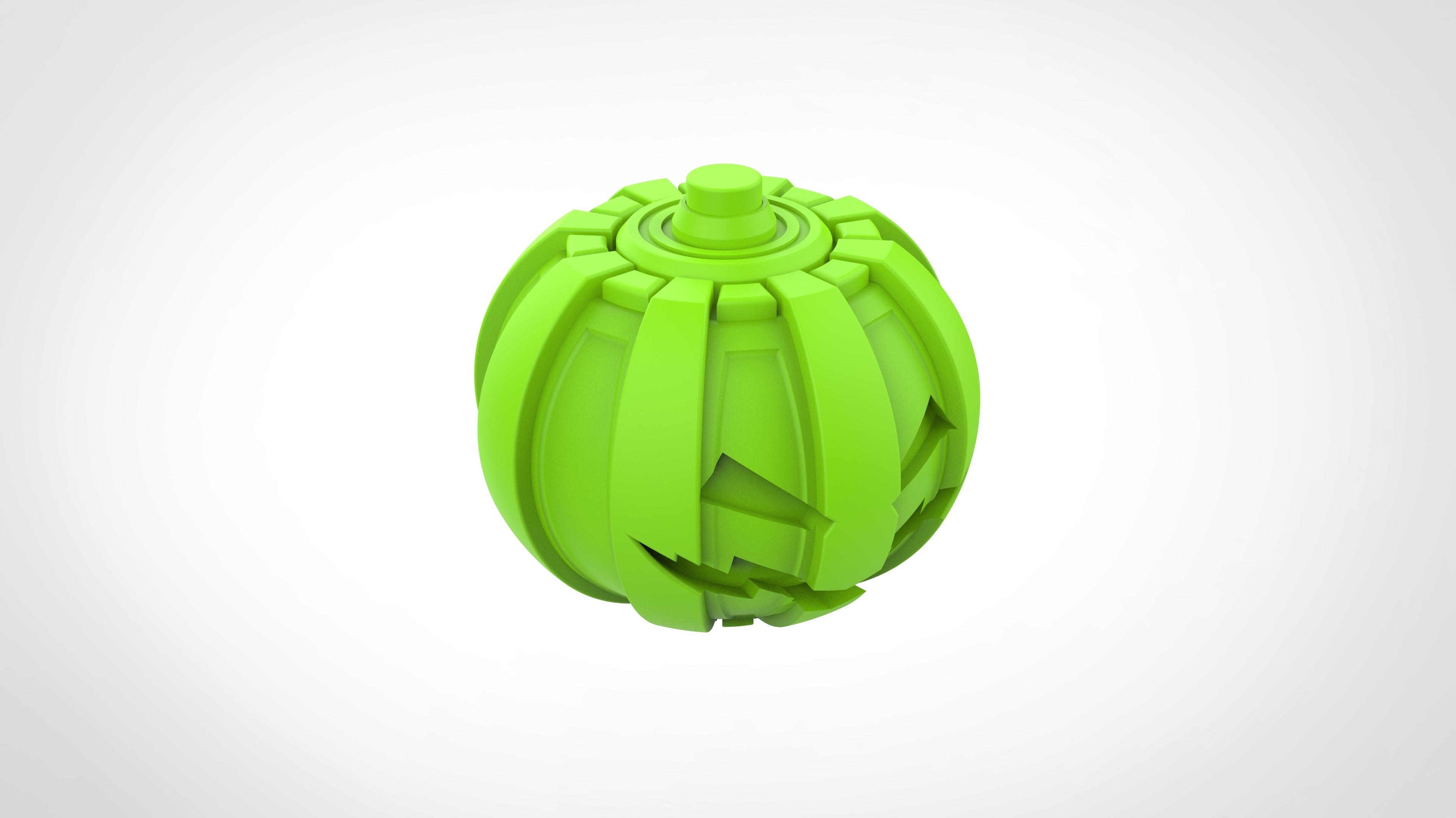 032.jpg Download 3MF file Green goblin bombs from the Spide-Man comics • 3D print model, vetrock