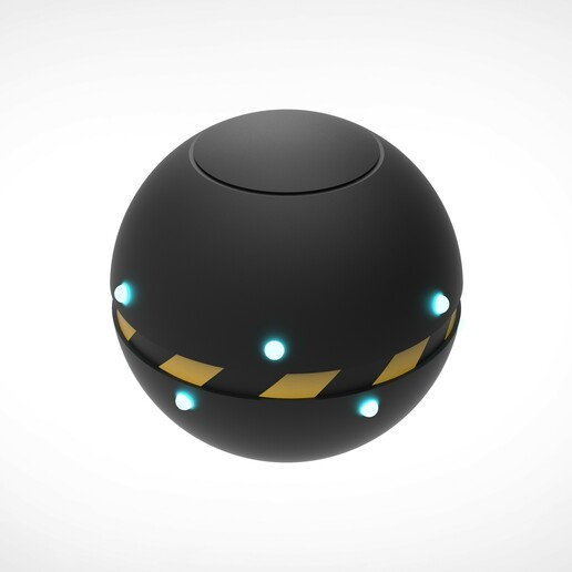 002.jpg Download 3MF file Trap Orb from the Ghostbusters comics  • 3D printable object, vetrock