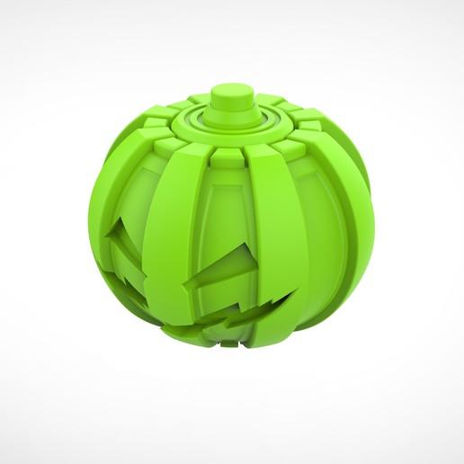 017.jpg Download 3MF file Green goblin bombs from the Spide-Man comics • 3D print model, vetrock