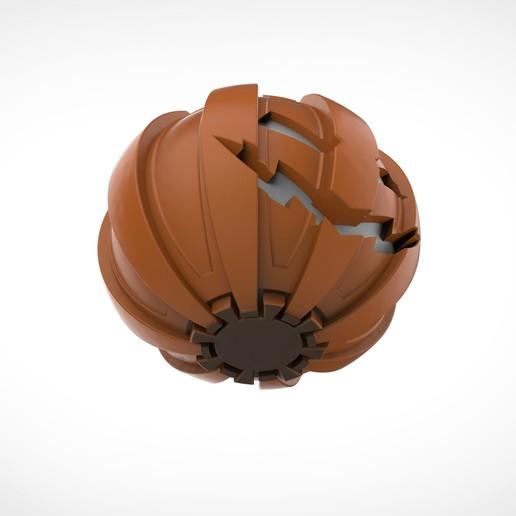 011.jpg Download 3MF file Green goblin bombs from the Spide-Man comics • 3D print model, vetrock