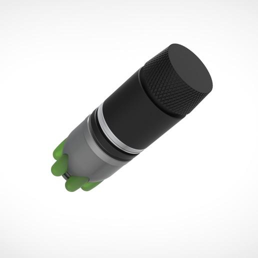 009.jpg Download 3MF file Glue grenade from the video game Batman: Arkham Origins • 3D printer model, vetrock