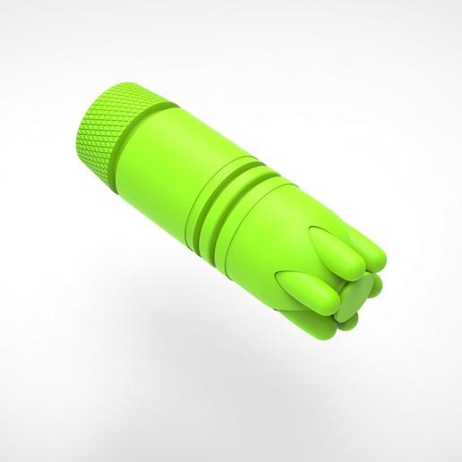 018.jpg Download 3MF file Glue grenade from the video game Batman: Arkham Origins • 3D printer model, vetrock