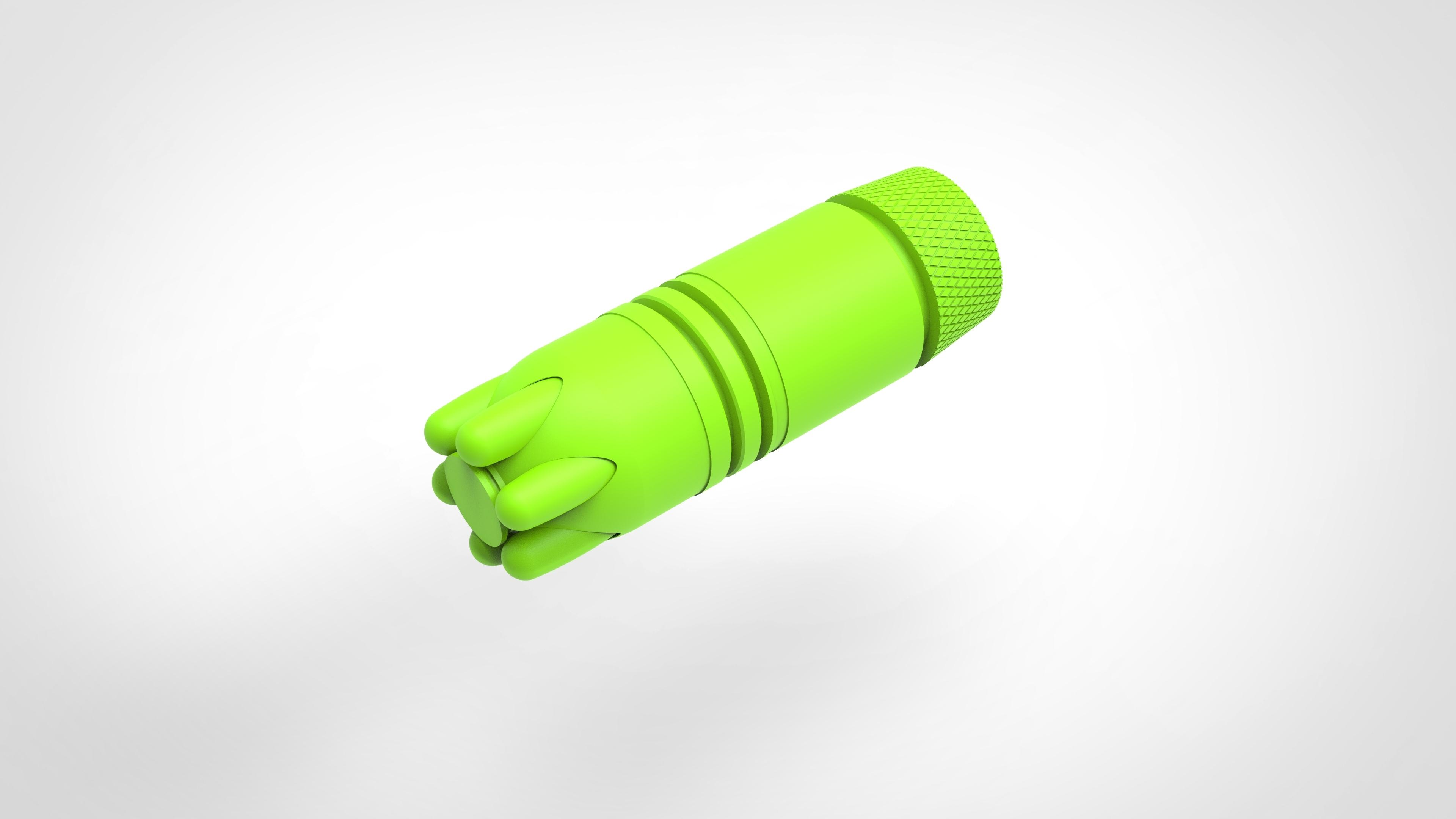 023.jpg Download 3MF file Glue grenade from the video game Batman: Arkham Origins • 3D printer model, vetrock
