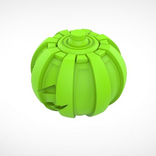 020.jpg Download 3MF file Green goblin bombs from the Spide-Man comics • 3D print model, vetrock