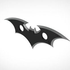 002.jpg Download 3MF file Batarangs from video game Batman:The Telltale Series • 3D printing template, vetrock