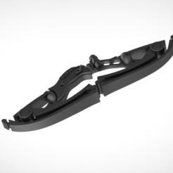 Descargar modelos 3D para imprimir Modelo de impresión en 3D del arco Hawkeye plegable, vetrock