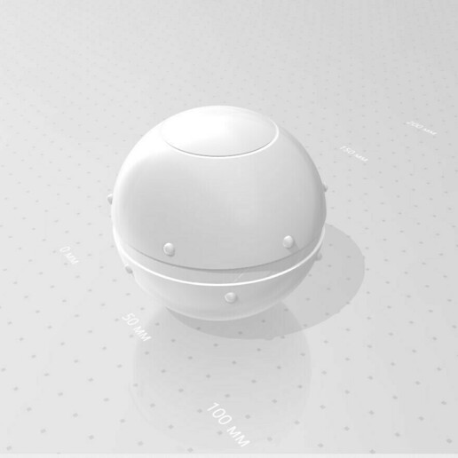027.jpg Download 3MF file Trap Orb from the Ghostbusters comics  • 3D printable object, vetrock
