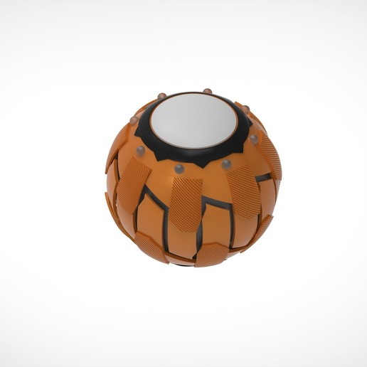 Download STL file Pumpkin Bombs from the movie Spider Man 2002 3D print model  • 3D printing template, vetrock