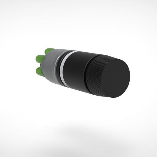008.jpg Download 3MF file Glue grenade from the video game Batman: Arkham Origins • 3D printer model, vetrock