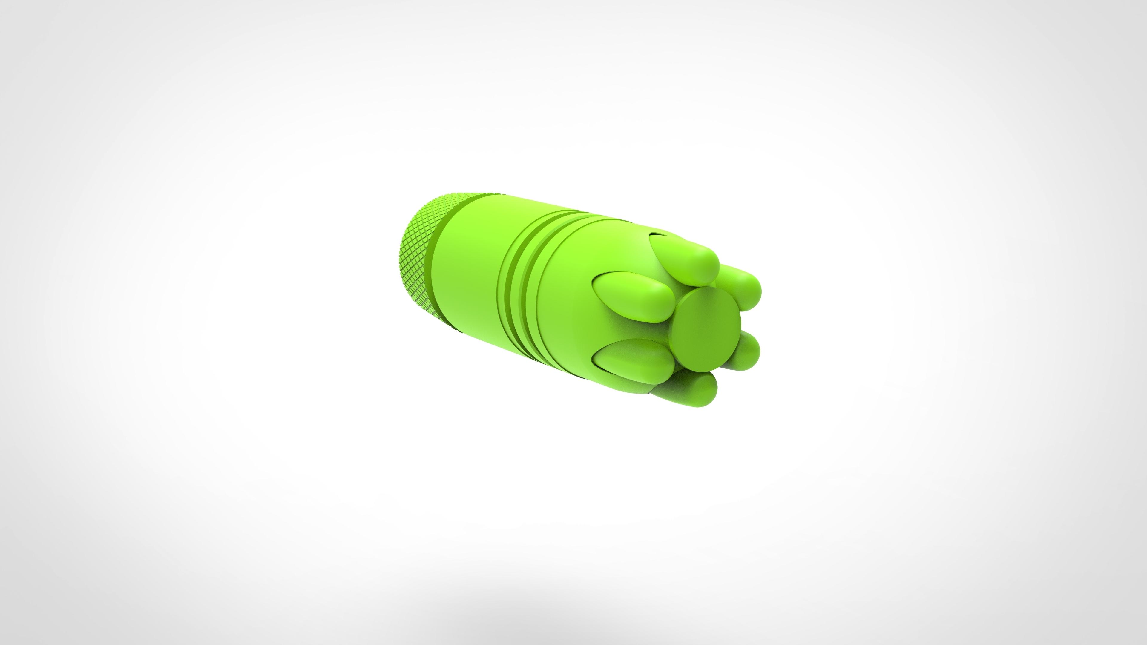 019.jpg Download 3MF file Glue grenade from the video game Batman: Arkham Origins • 3D printer model, vetrock