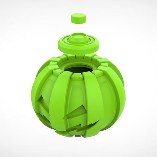 034.jpg Download 3MF file Green goblin bombs from the Spide-Man comics • 3D print model, vetrock