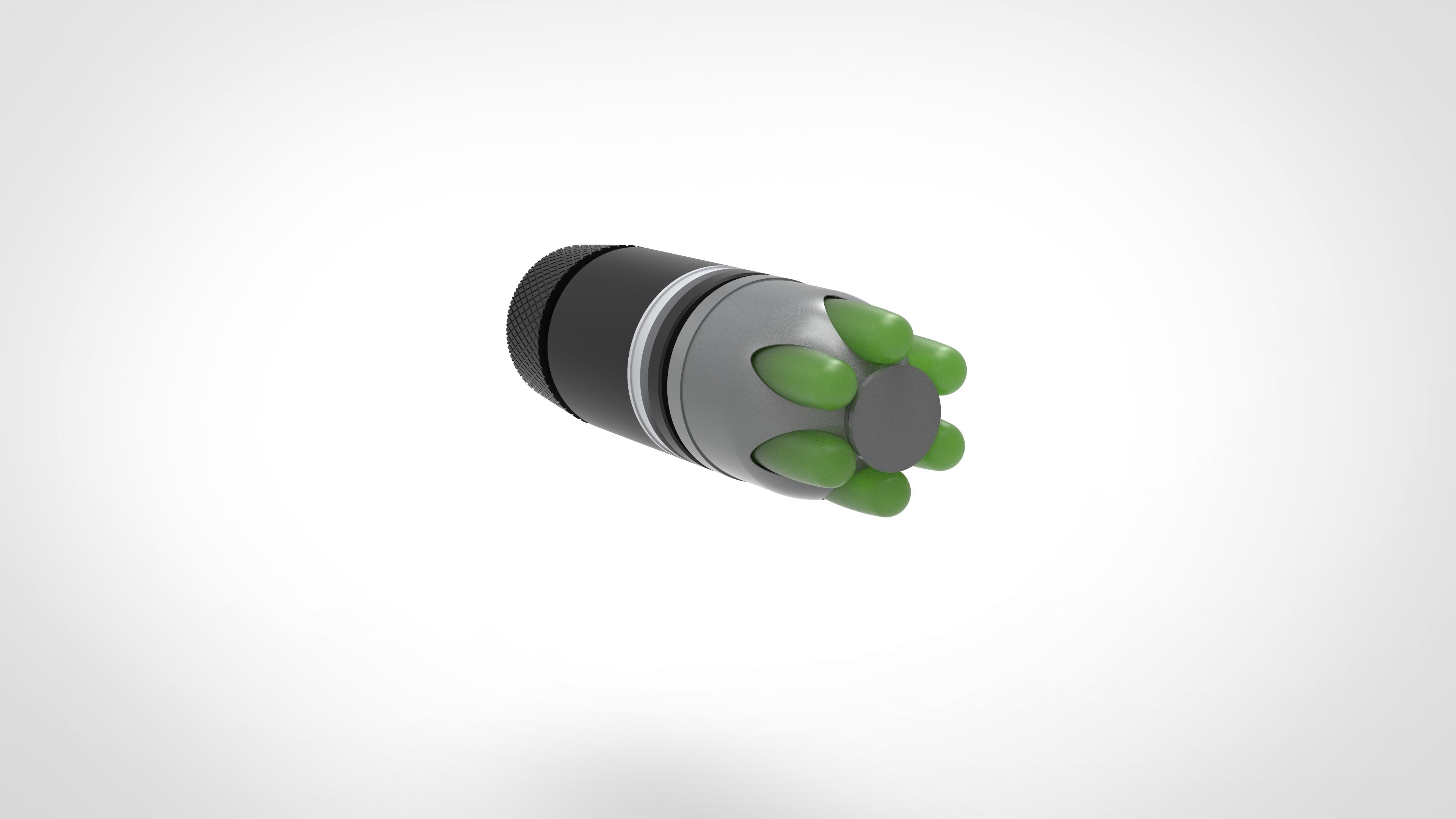 002.jpg Download 3MF file Glue grenade from the video game Batman: Arkham Origins • 3D printer model, vetrock