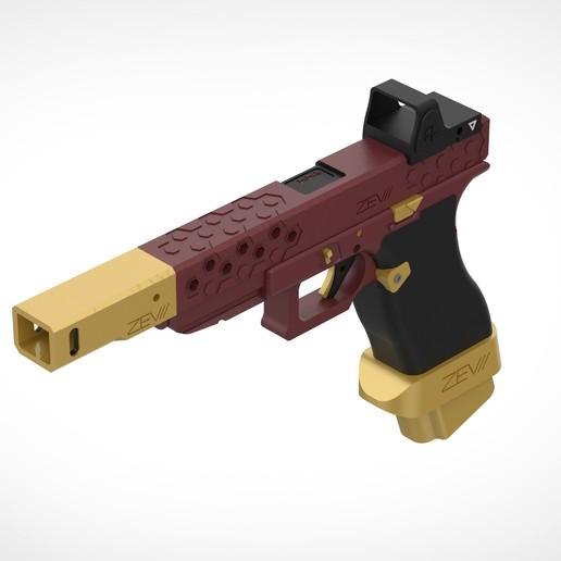 Download 3MF file Deadshot gun from the movie Suicide Squad 2016 • 3D printable design, vetrock