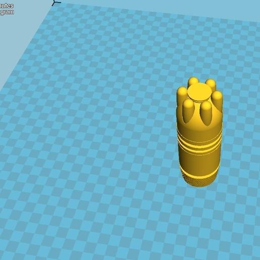 038.jpg Download 3MF file Glue grenade from the video game Batman: Arkham Origins • 3D printer model, vetrock