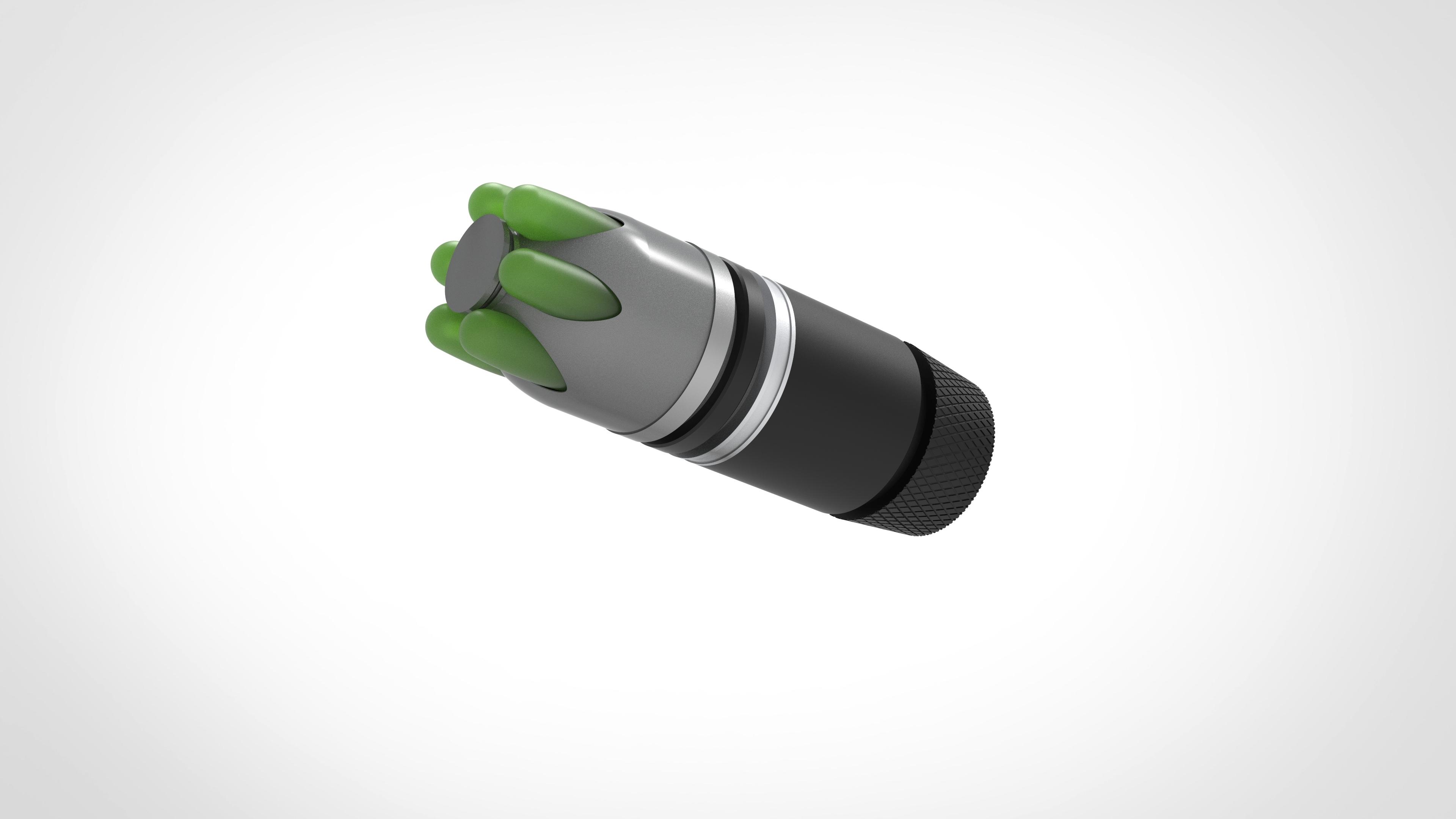 004.jpg Download 3MF file Glue grenade from the video game Batman: Arkham Origins • 3D printer model, vetrock