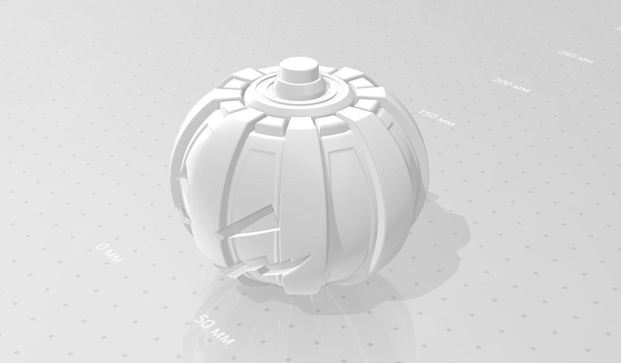 045.jpg Download 3MF file Green goblin bombs from the Spide-Man comics • 3D print model, vetrock
