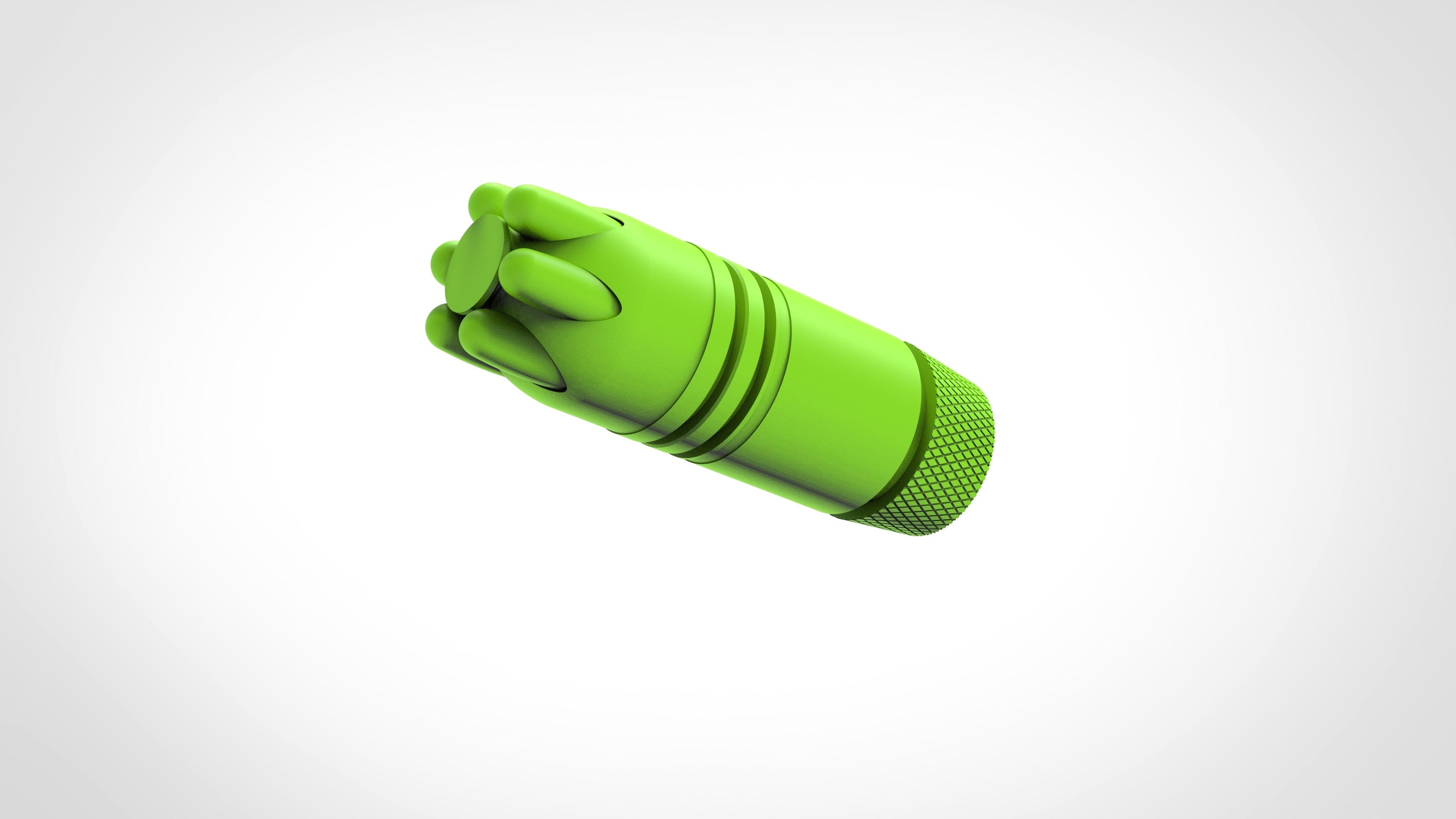 021.jpg Download 3MF file Glue grenade from the video game Batman: Arkham Origins • 3D printer model, vetrock