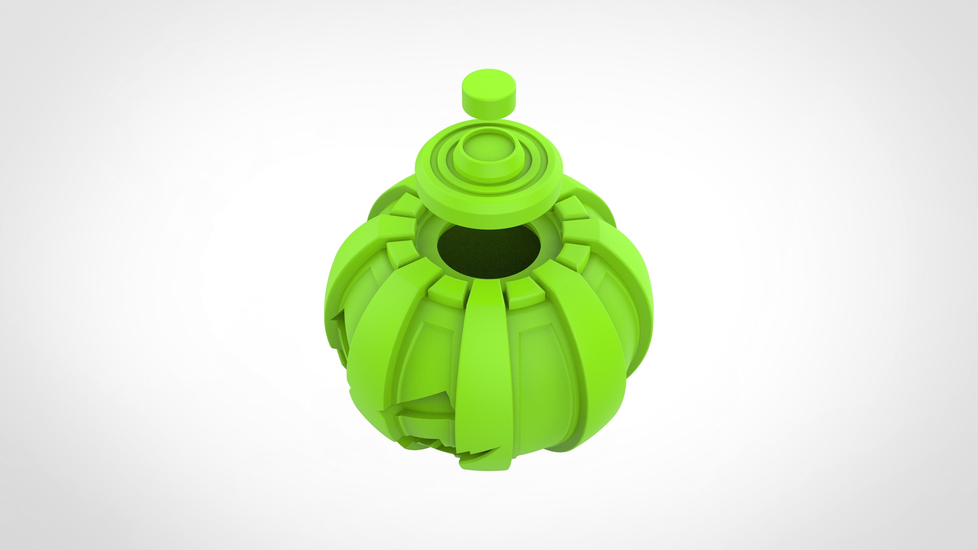 035.jpg Download 3MF file Green goblin bombs from the Spide-Man comics • 3D print model, vetrock