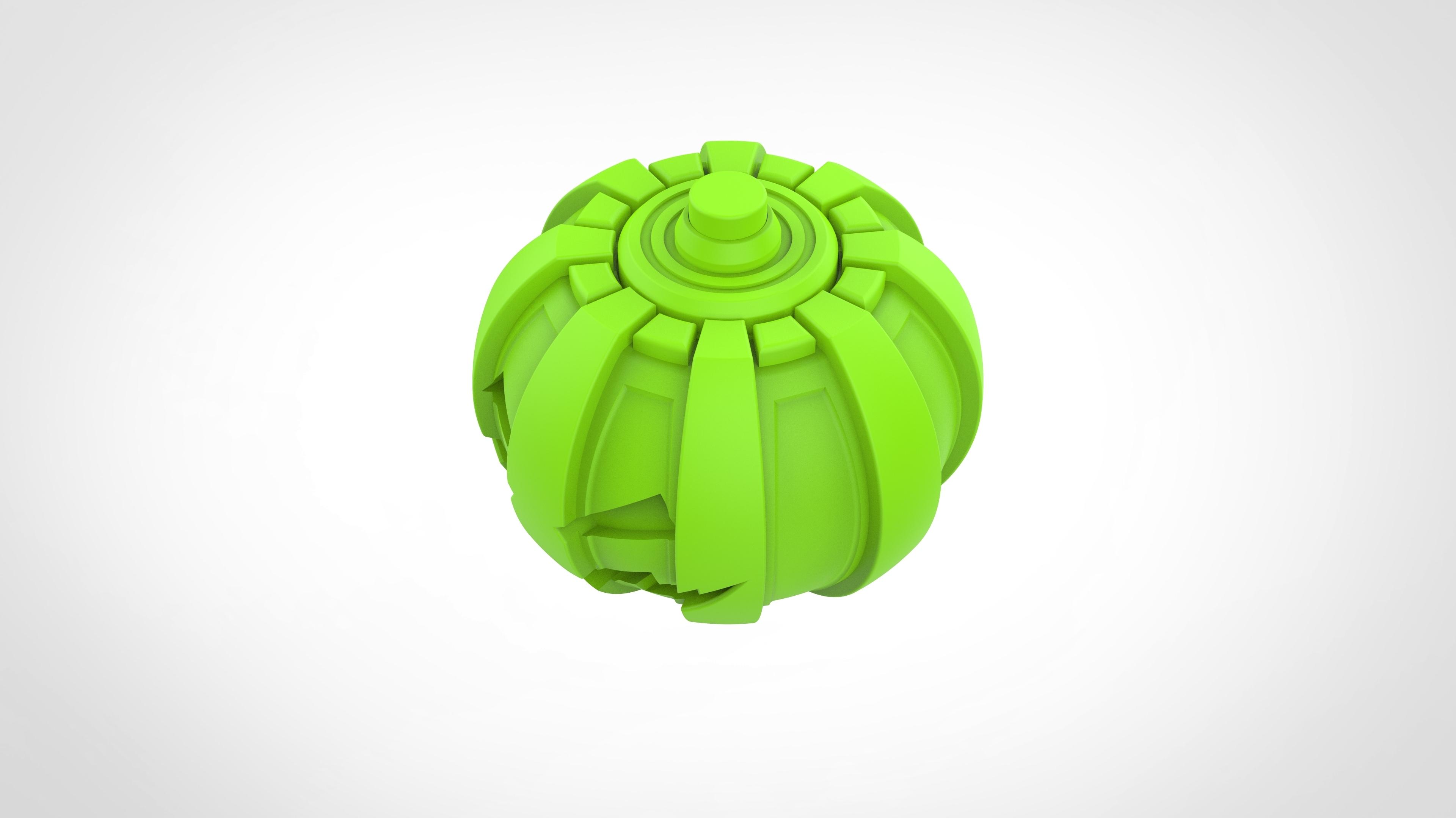 018.jpg Download 3MF file Green goblin bombs from the Spide-Man comics • 3D print model, vetrock