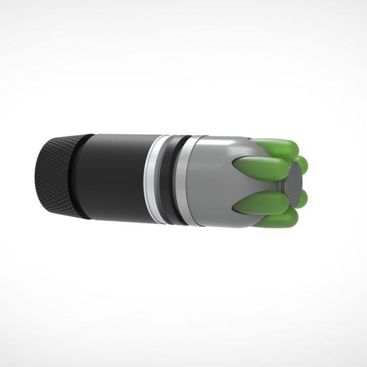 015.jpg Download 3MF file Glue grenade from the video game Batman: Arkham Origins • 3D printer model, vetrock