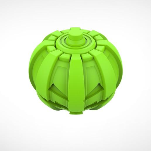 025.jpg Download 3MF file Green goblin bombs from the Spide-Man comics • 3D print model, vetrock