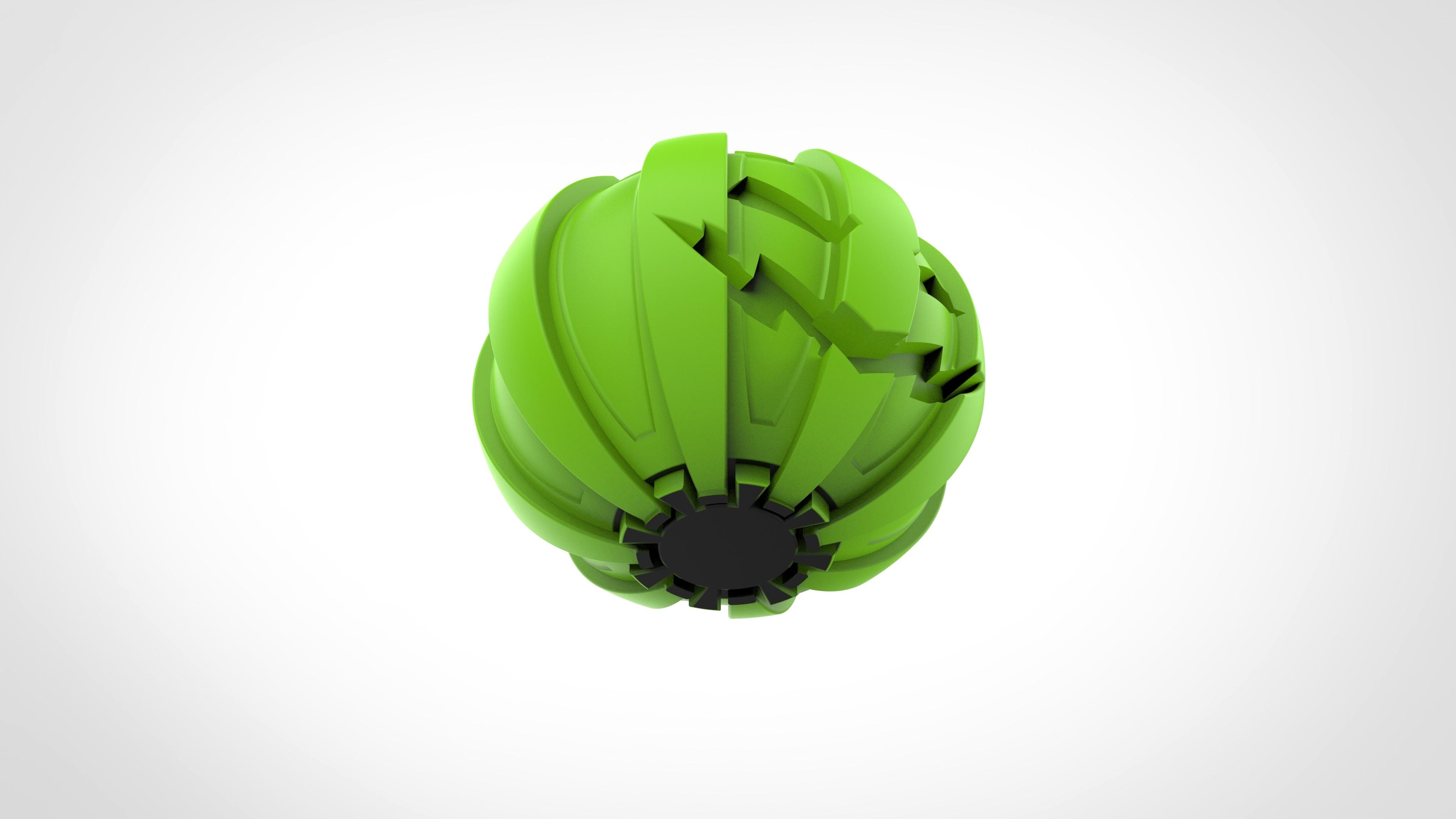 027.jpg Download 3MF file Green goblin bombs from the Spide-Man comics • 3D print model, vetrock