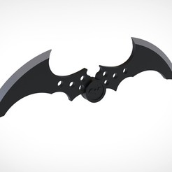 001.jpg Download 3MF file Batarang from the Video Game Batman Arkham City • 3D printing model, vetrock