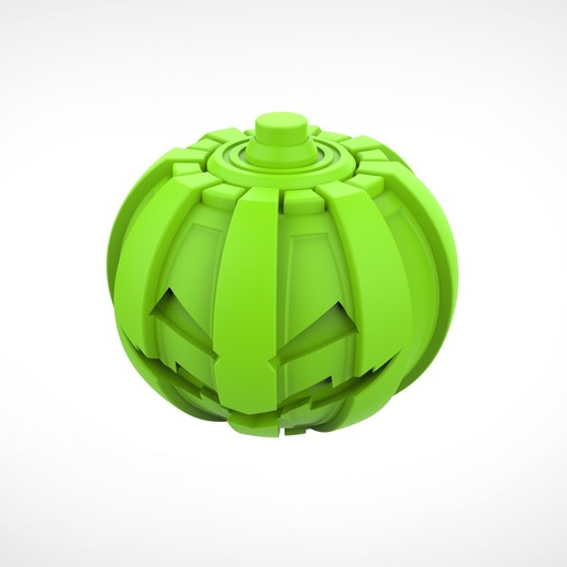 031.jpg Download 3MF file Green goblin bombs from the Spide-Man comics • 3D print model, vetrock