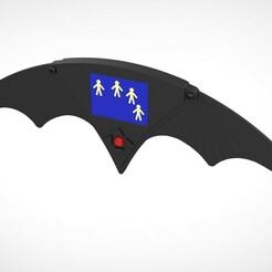 007.jpg Télécharger fichier 3MF Batarang à distance du film Batman Returns 1992 • Plan imprimable en 3D, vetrock